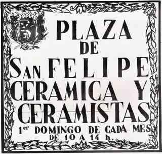 Plaza San Felipe, 1982 - 2007 . 25 años