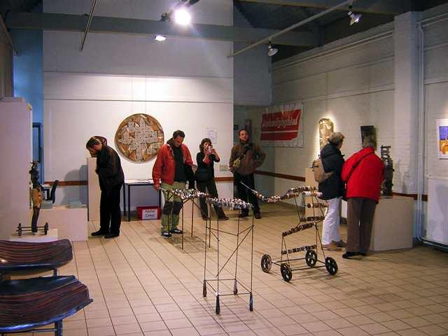 Exposición en Brasschaat.