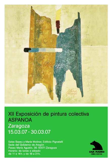 XII Exposición de pintura colectiva ASPANOA