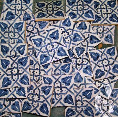 Azulejos para la Aljafería.