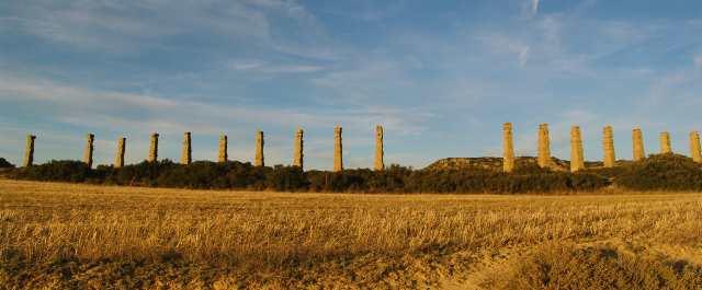 Panorama del acueducto.