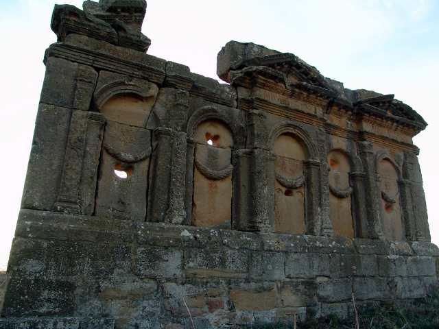 Mausoleo romano de los Atilios s.I.