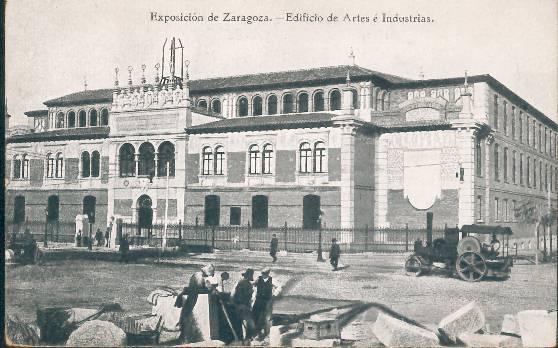 La Escuela de Artes de Zaragoza
