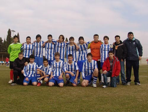 San Mateo Cadete. Temporada 2007 - 2008.