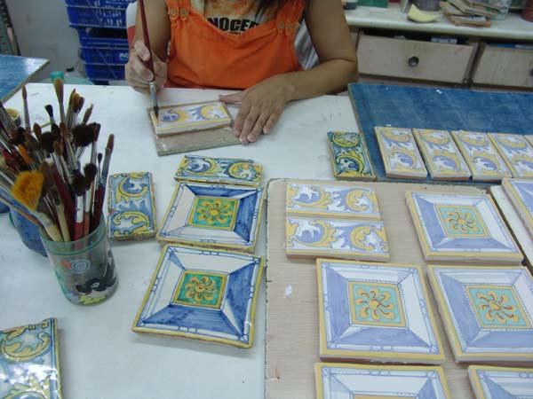 Valtierra (Navarra). Azulejos para la torre.