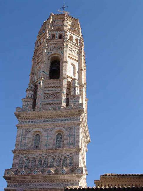 Torre de Mudéjar de Utebo (Zaragoza).