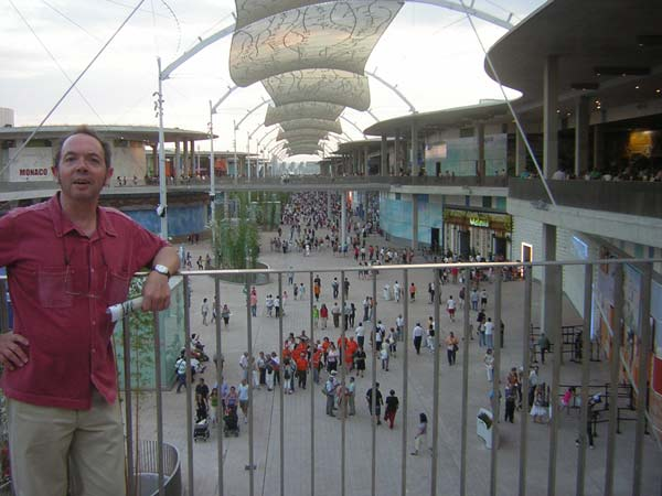 San Mateo en la Expo de Zaragoza.
