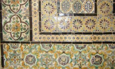 Si que hay azulejos en Túnez.