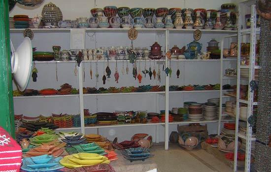 Túnez 4. Conocer la cerámica tunecina.
