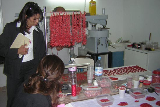 """Túnez 5. """"El village de artesanía""""."""