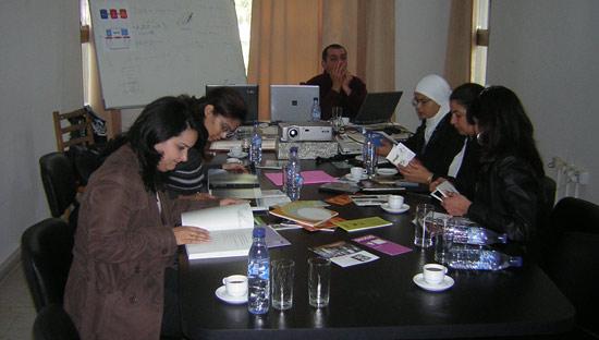 Túnez 9. Sala de reuniones.