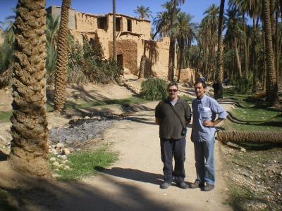 Argelia, país vecino.