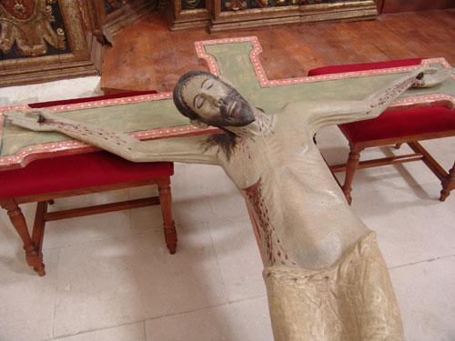 Cristo de Lecina.