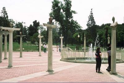 Fuente del Parque Pignatelli. (1989). Instalación.