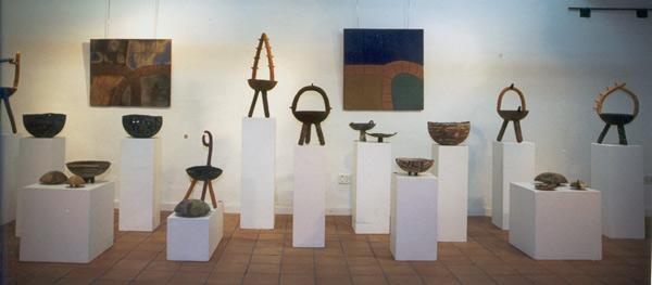 """Sala de Arte """"El Cegonyer"""" de Fraga (Huesca). 2001."""
