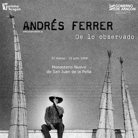 Andrés Ferrer en San Juan de la Peña.