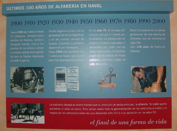 Naval. Centro de Interpretación de la Alfarería.