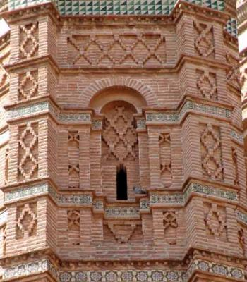 Torre de Muniesa. Detalle (1).