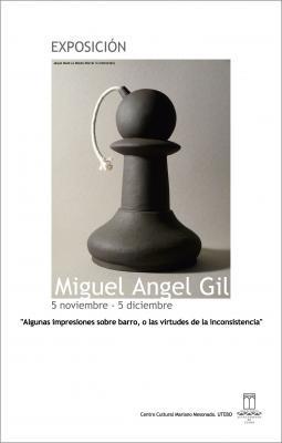 Miguel Angel Gil en Utebo (Zaragoza).