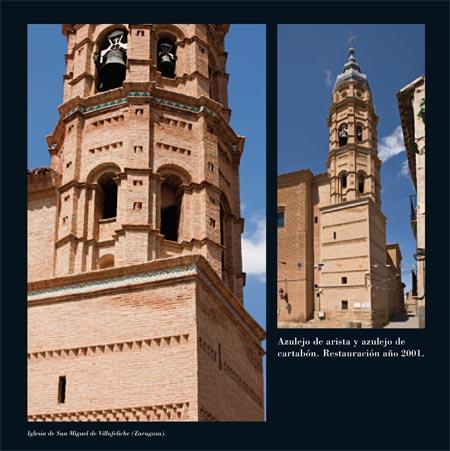 Alfar Mudéjar siglo XXI. Catálogo. Iglesia de San Miguel. Villafeliche (Zaragoza).