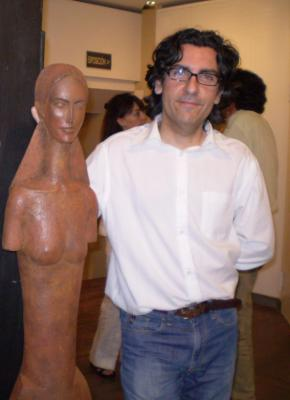 Jesús Sanz expone en Pilar Ginés. Zaragoza.
