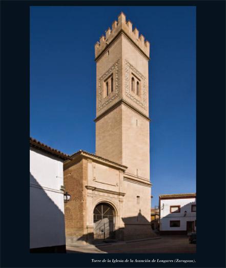 Alfar Mudéjar siglo XXI. Catálogo. Torre de la Iglesia de la Asunción de Longares (Zaragoza).