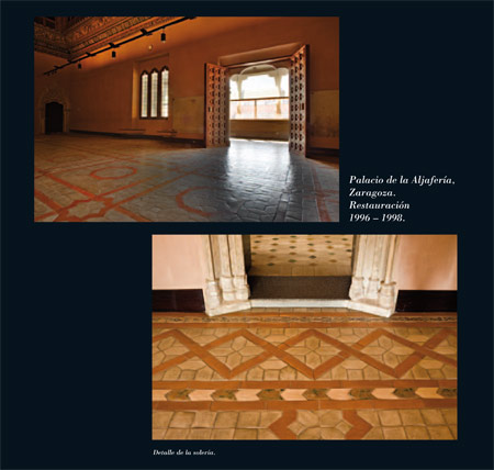 Alfar Mudéjar siglo XXI. Catálogo. Palacio de la Aljafería, Zaragoza. Página 34.