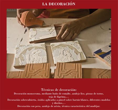 Alfar Mudéjar siglo XXI. Catálogo. La Decoración.