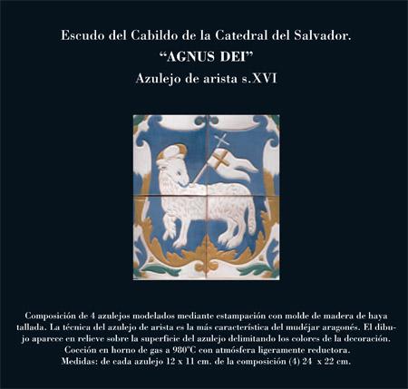 Alfar Mudéjar siglo XXI. Catálogo. Catedral del Salvador de Zaragoza.(12)