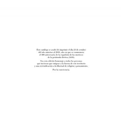 Alfar Mudéjar siglo XXI. Catálogo. Colofón.