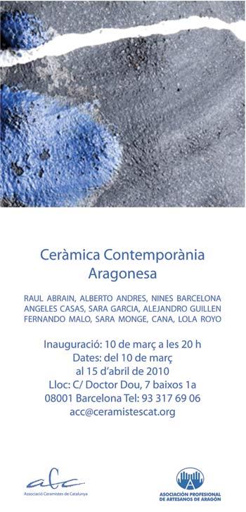 Ceràmica Contemporània Aragonesa.