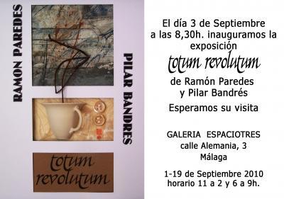 Ramón Paredes y Pilar Bandrés en Málaga.