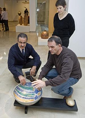 """Félix Sanz y Monona, """"Vasijas y gestos""""."""