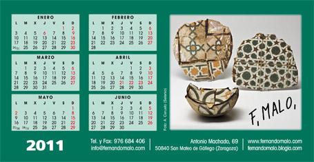 Calendario 2011.
