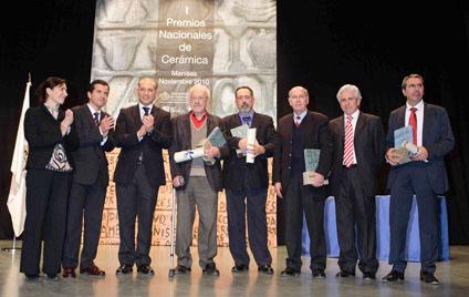 Premios Nacionales de Cerámica 2010.