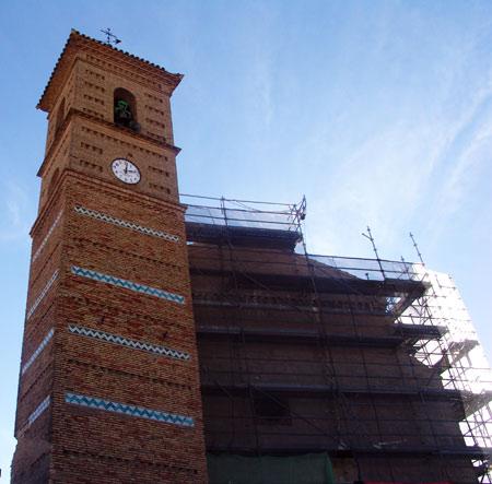 Iglesia de San Clemente. La Muela. Zaragoza.