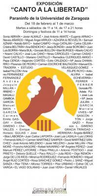 """Exposición """"Canto a la Libertad""""."""