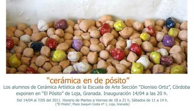 """""""cerámicas en de pósito"""""""