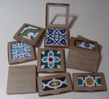 Caja azulejo mudéjar.