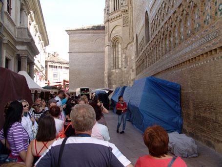 Mercado Medieval de las tres culturas. Zaragoza.