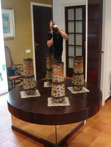 Cuatro visiones del jarrón.