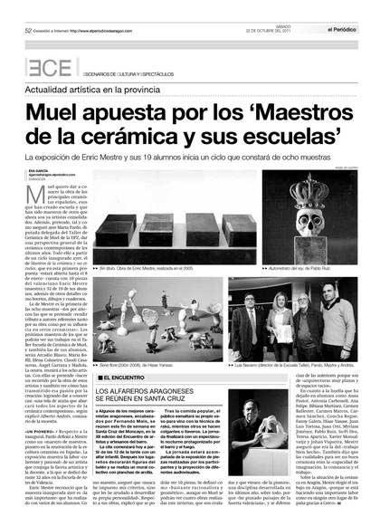 Maestros con Escuela. Enric Mestre.