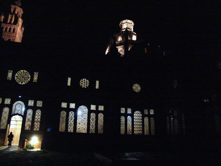 La Catedral de noche.