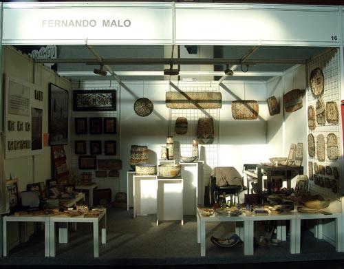 Feria de Artesanía en Zaragoza.