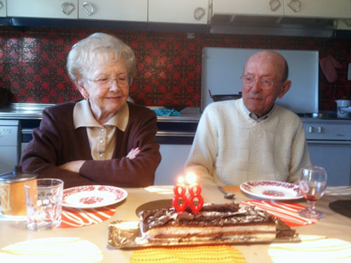 88 años.